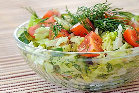 Slim with summer salads