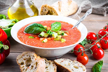 Slim with summer soups