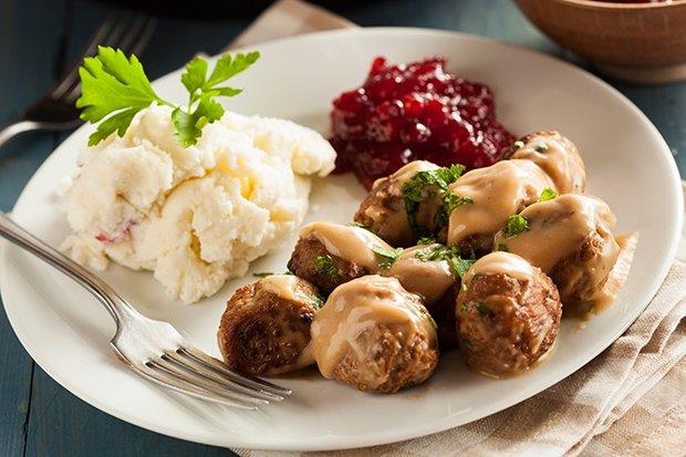 Ein Schwedischer Klassiker In Sachen Fleisch Sind Die So Genannten  Köttbullar.