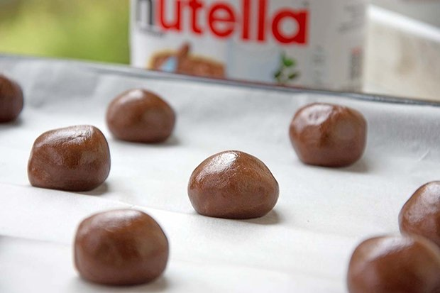 Rezept von nutella kekse
