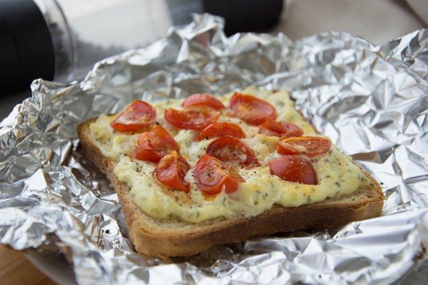 Schnelle Toast Pizza Rezept Gutekuechech