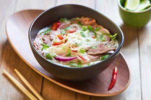 Pho bo Suppe