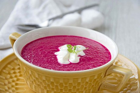 Rote Beete Cremesuppe