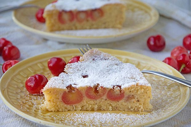 Kirschkuchen Mit Pudding Rezept Gutekueche Ch