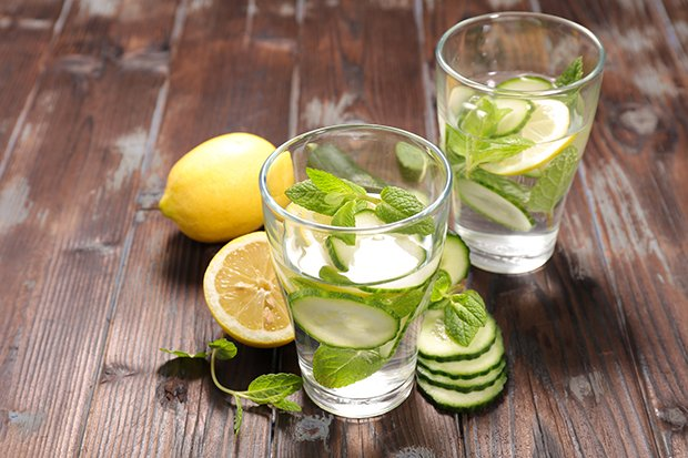 Detox Gurken-Wasser