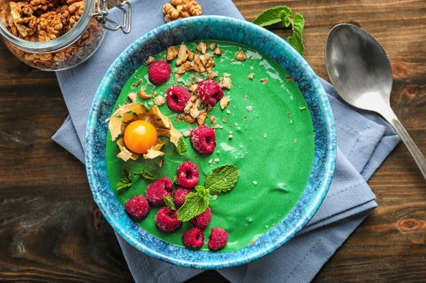Green-Power Smoothie Bowl