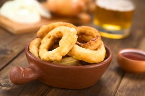 Knusprige Onion Rings