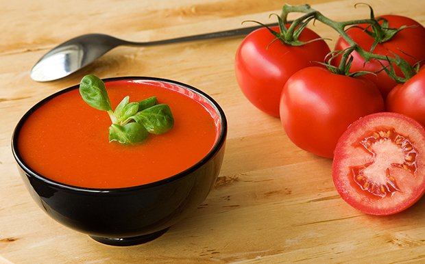 Tomatensuppe light