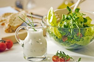 Joghurt-Schnittlauch Dressing light