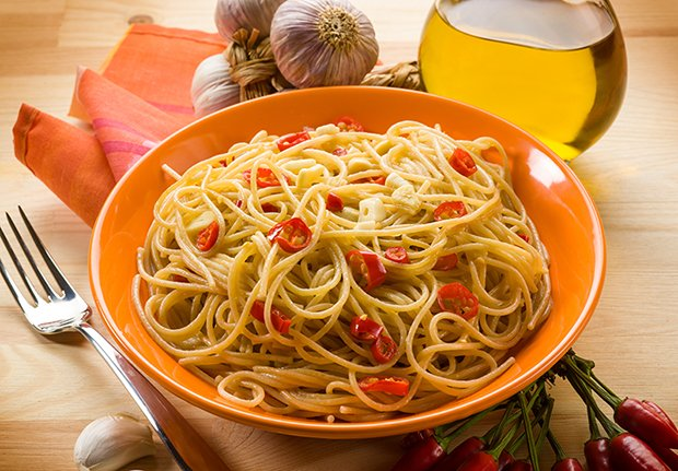 Spaghetti Aglio E Olio Rezept Gutekueche Ch