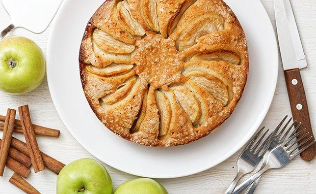Quark-Apfelkuchen Rezept - GuteKueche.ch