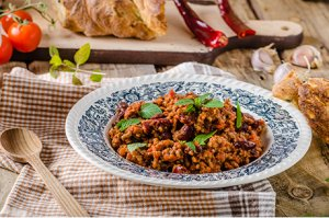 Chili con carne traditionell