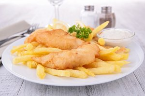 Fish and Chips nach schottischer Art