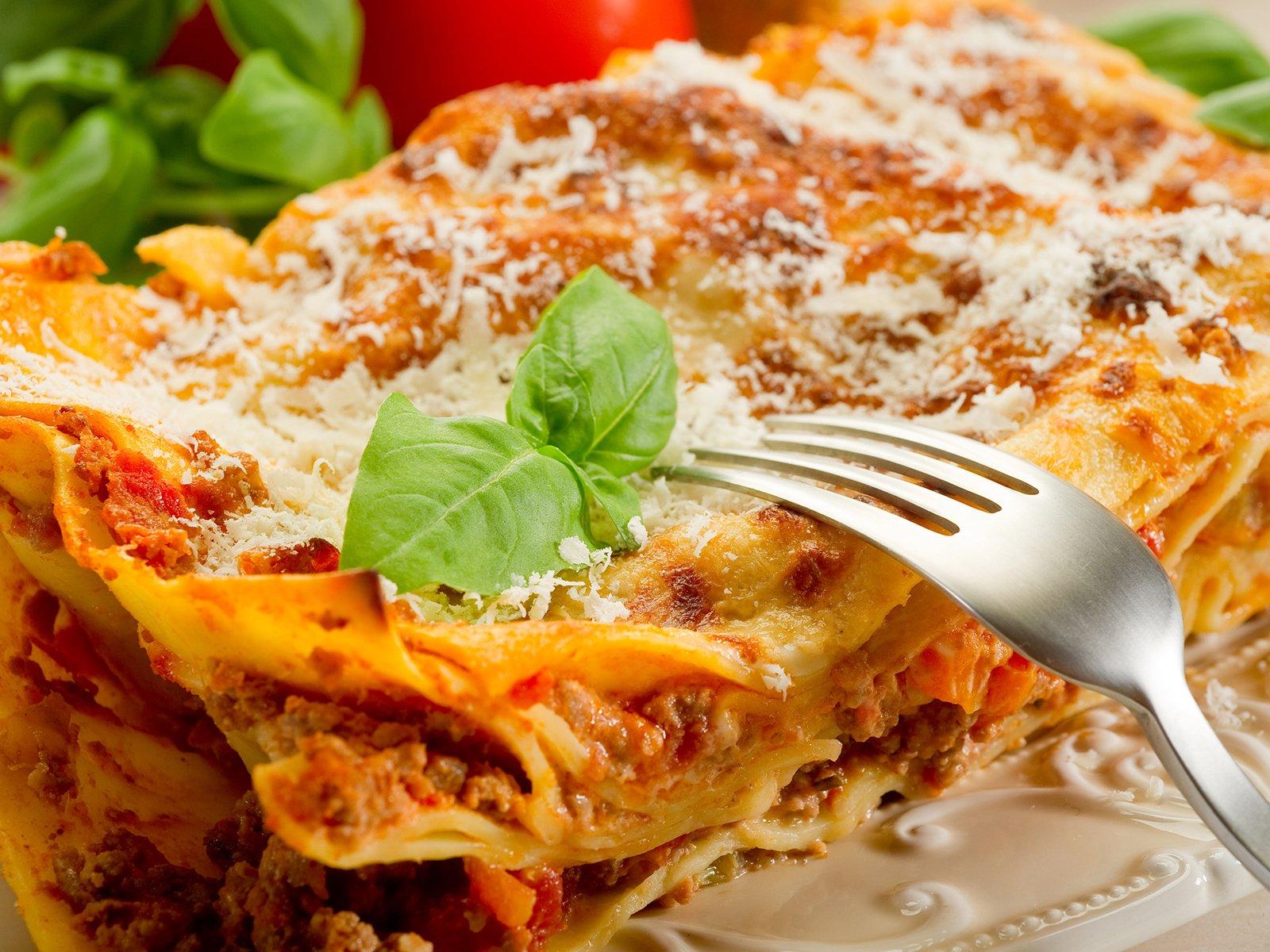 Echte italienische Lasagne