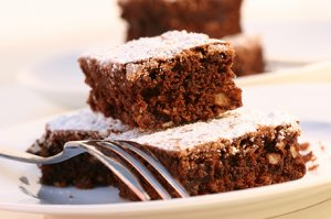 Traditioneller Brownie