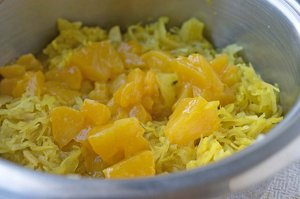 Sauerkraut mit Curry