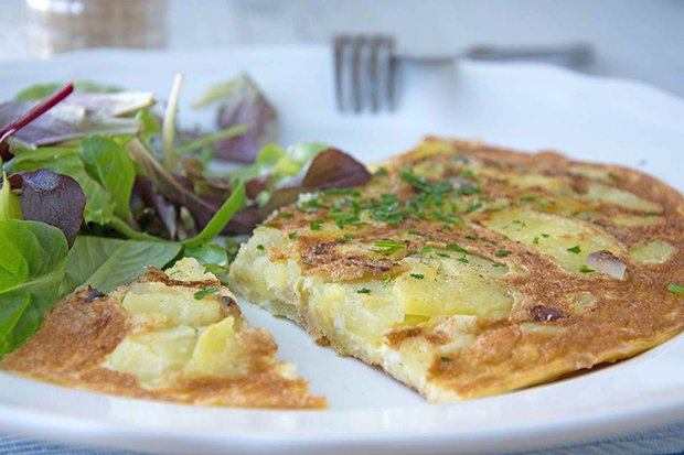 Rezept Für Omelett spanisches omelett rezept gutekueche ch