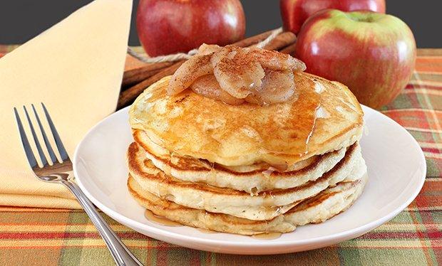 Apfelpfannkuchen für diabetiker