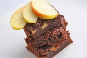 Apfel Brownies