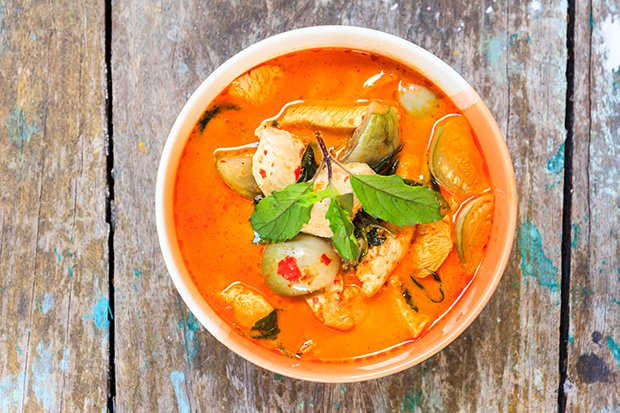 Red Thai Curry Mit Poulet Rezept Gutekuechech