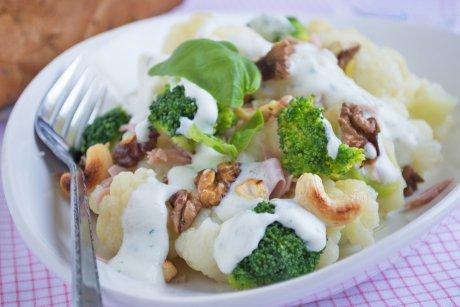 Bunter Blumenkohl Salat Rezept GuteKueche