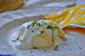 Falsche Baked Potatoes