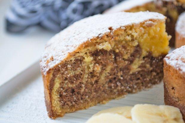 Bananen Marmor Kuchen Rezept Gutekueche Ch