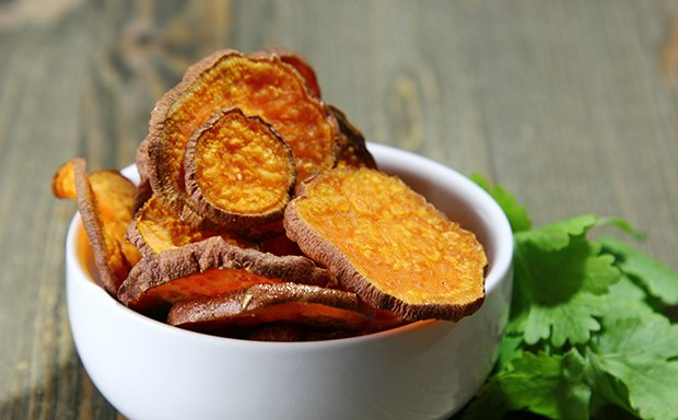 Süsskartoffel Chips Rezept Gutekuechech