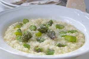 Risotto mit Spargel