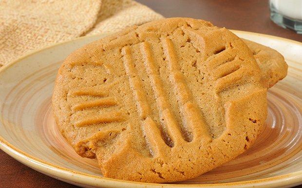 Erdnussbutter kekse rezept vegan