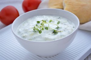 Traditionelles Tzatziki