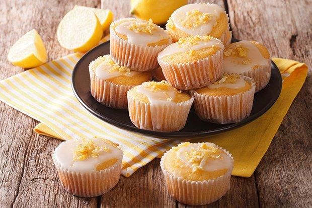 Vegane Zitronenmuffins Rezept Gutekuechech
