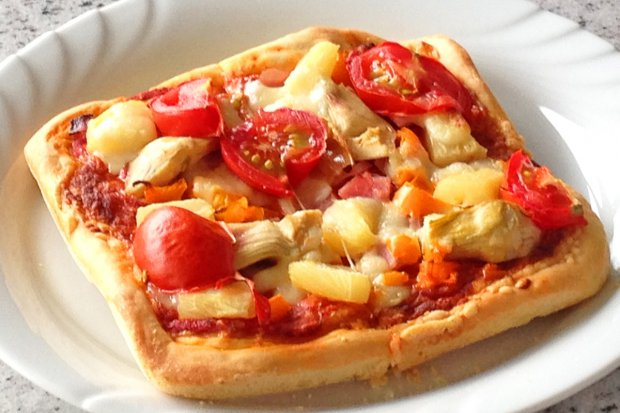 Schnelle Pizza Für Singles Rezept Gutekuechech
