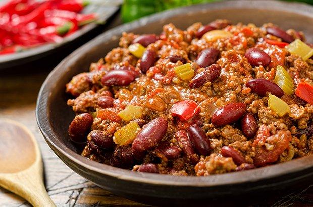 Chili Con Carne Würzig Scharf Rezept Gutekuechech