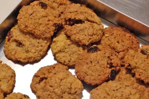 Glutenfreie Hafer-Amaranth-Cookies