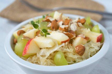 Sauerkrautsalat Apfel