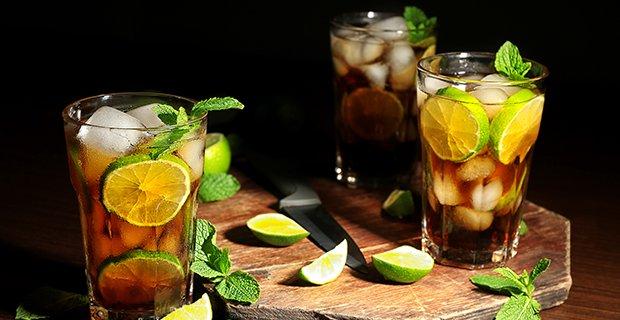 Cocktails mit Rum - GuteKueche.ch